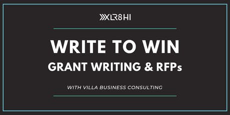 Write to Win: Grant Writing & RFPs tickets