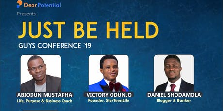 Guy's Conference '19 - JUST BE HELD tickets