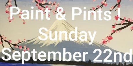 Paint & Pints @13point brewery tickets