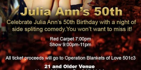 The Roast of Julia Ann - 50th Birthday Party  tickets
