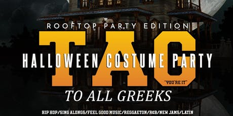 TAG Rooftop Halloween Party inside Apt 503 tickets