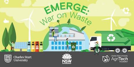 EMERGE: War on Waste Bootcamp, Wagga Wagga!  tickets