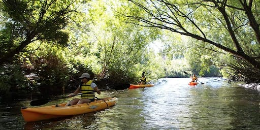 Women's Introduction to River Kayaking - Paddle with the Platypus Adventure