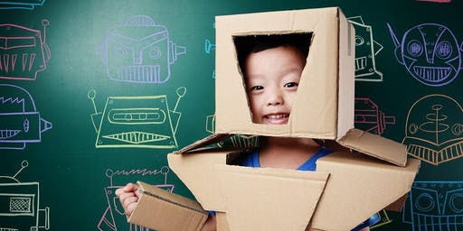 Imagine and Create Blockheads - Children's Holiday Activity