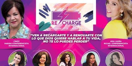 RECHARGE - Retiro de Mujeres (Day-Pass) entradas