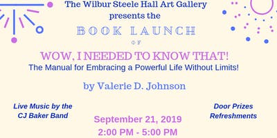 The Wilbur Steele Hall Art Gallery Presents: Valerie D. Johnson Book Launch