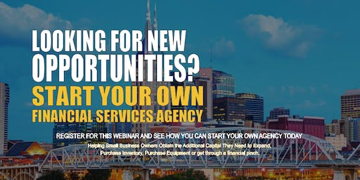Start your Own Financial Services Agency Nashville TN