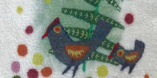 FELTED PICTURES WITH DEB TWINING