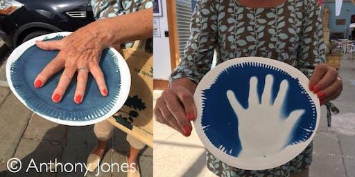 Anthony Jones at the Handmade Fair, Gravesend.
