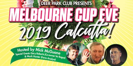 Melbourne Cup Eve Calcutta Event tickets