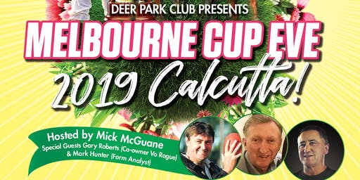 Melbourne Cup Eve Calcutta Event