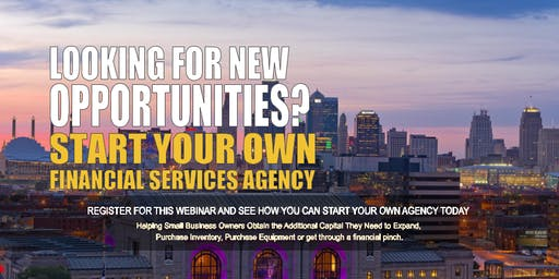Start your Own Financial Services Agency Kansas City MO