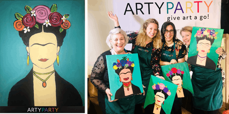 ARTYPARTY - Give Art a Go! Paint Frida Kahlo - 1st drink free! tickets