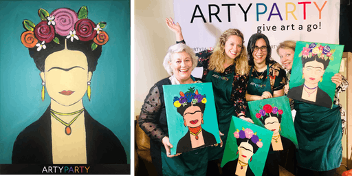 ARTYPARTY - Give Art a Go! Paint Frida Kahlo - 1st drink free!