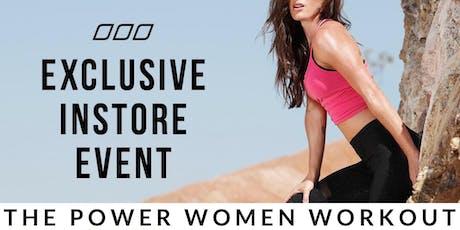 The Power Women Workout tickets