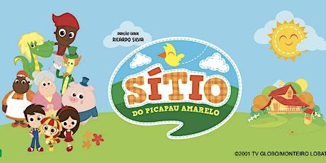 50% de DESCONTO! Espetáculo oficial do Sitio do Picapau Amarelo no Teatro das Artes  ingressos