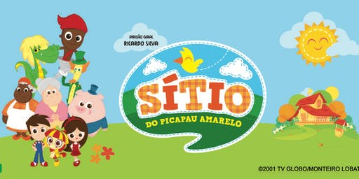 50% de DESCONTO! Espetáculo oficial do Sitio do Picapau Amarelo no Teatro das Artes