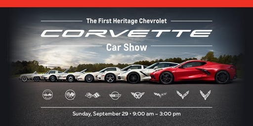 The First Heritage Chevrolet Corvette Car Show