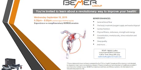 BEMER Therapy, a New Frontier in Health Care tickets