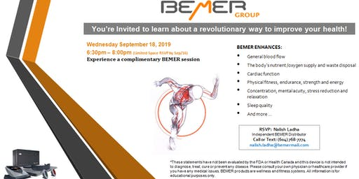 BEMER Therapy, a New Frontier in Health Care