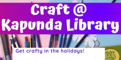 School Holidays - Craft @ Kapunda Library