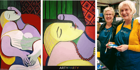 ARTYPARTY - Give Art a Go! Pinot & Picasso Special Event  tickets