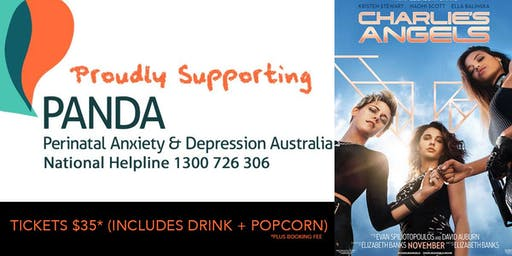 MOVIE NIGHT FUNDRAISER FOR PANDA: CHARLIE'S ANGELS