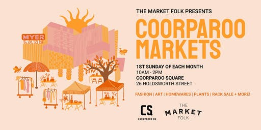 Pre-Loved Rack Sale - Coorparoo Square x The Market Folk