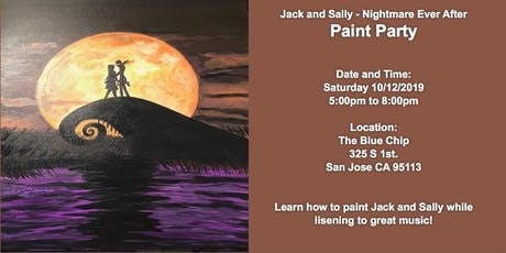 Jack and Sally-Nightmare Ever After: Paint Party x Beats tickets
