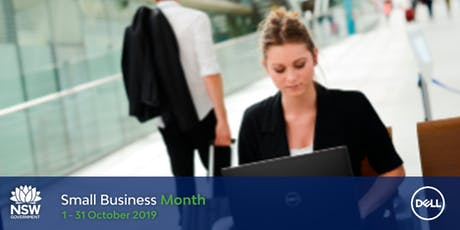 NSW Small Business Month- How to protect your business against cyber threat tickets