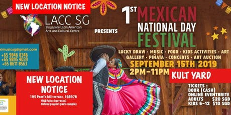 1st Mexican National Day Festival Singapore tickets