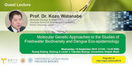 [Guest Lecture] Molecular Genetic for Dengue Eco-epidemiology Study