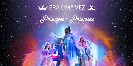 Desconto! Espetáculo Era Uma Vez-Príncipes e Princesas no Teatro das Artes  ingressos