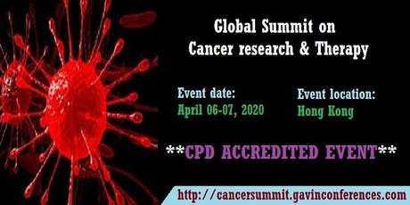 Global Summit on Cancer research & Therapy tickets