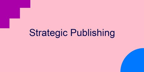 Strategic publishing (City) tickets