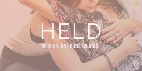 HELD • 10.11 tickets