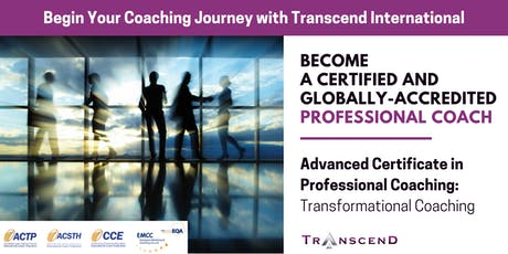 ADVANCED CERTIFICATE IN PROFESSIONAL COACHING (Modules 3-4) Sept 24-26 2019 tickets