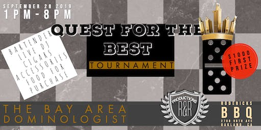 Quest for the Best - Bay Area Dominologist Tournament