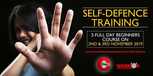 Self-Defence Training 2nd & 3rd November 2019