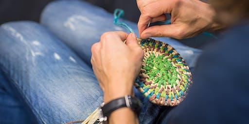 SPRINGarts: Basket Weaving