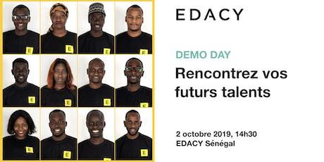 DEMO DAY DES TALENTS EDACY: Design Thinking et solutions numériques (cohorte 8) billets