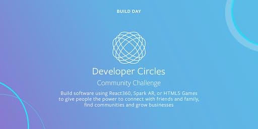 Facebook Developer Circles Community Challenge: Build Days 2019 (Vancouver)