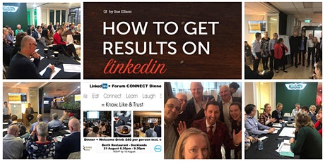 BBG LinkedIn+ Forum at Waterman - register with promo code BBGGUEST - for free tickets
