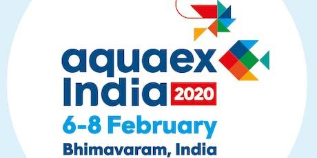 AquaEx India - 2020, 6-8 February, Bhimavaram, Andhra Pradesh. biglietti