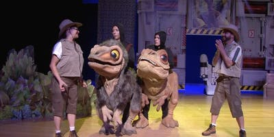 """Desconto! Espetáculo infantil """"DinoBabys - O Berçário Jurássico"""" no Teatro Fernando Torres"""