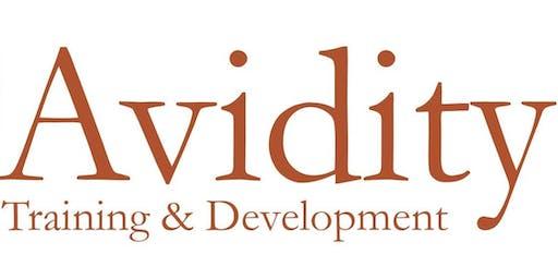 Avidity Training and Development: Leadership & Management workshop Hobart