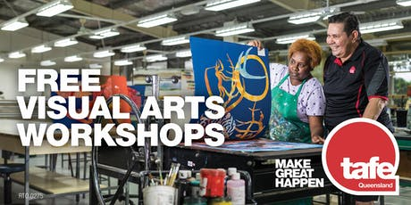 Visual art workshops and art facilities open day tickets