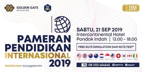 Pameran Pendidikan Internasional 2019 tickets