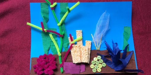 Rockdale Library - School Holiday Activity - Coral Reef Model