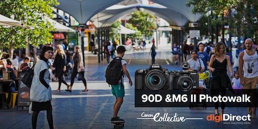 Canon 90D & M6 II Photowalk - Bondi